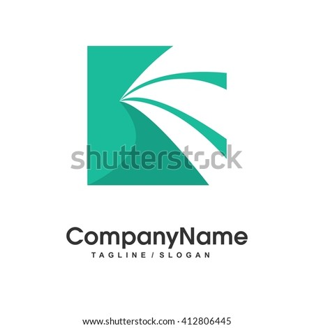 Generic Business Grow Development Logo Illustration Vector Icon