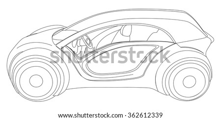 Car+line+art