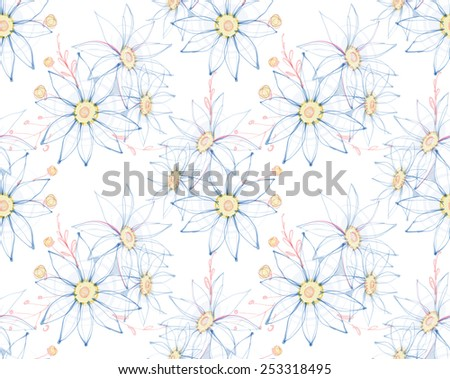 gentle chamomile, flowers