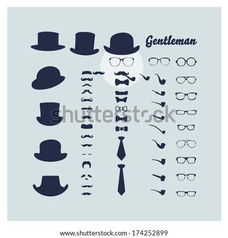 Gentleman - stock vector