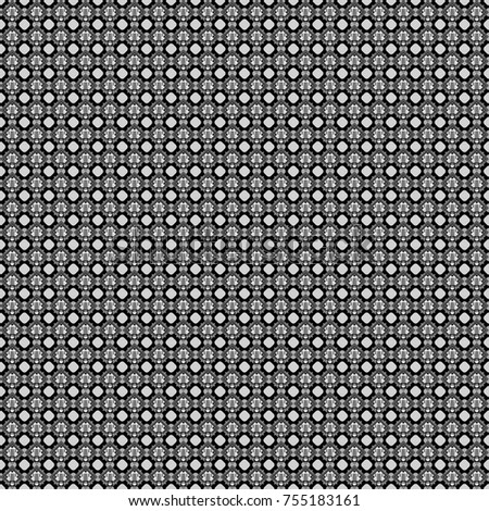 Geometric abstract background, geometric seamless pattern, shapes, tiles, stylized art. Vector geometric background, mosaic pattern in gray, black and white colors, graphic design.