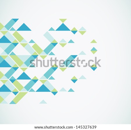 Geometric Abstract Background. Vector - stock vector