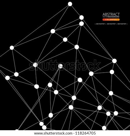 Geometric background  for design - stock vector