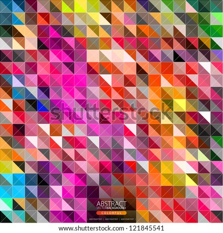 Geometric background  for design - stock vector
