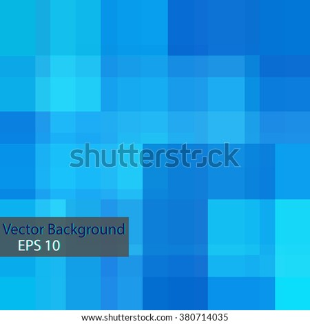 Geometric background with square, Vector illustration EPS 10 - stock vector