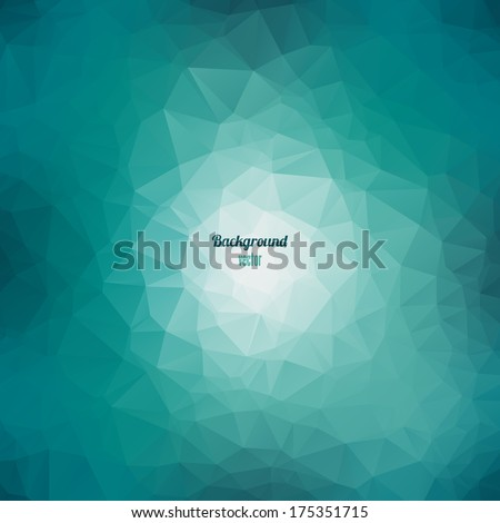 Geometric background with triangles. Vector EPS 10. - stock vector