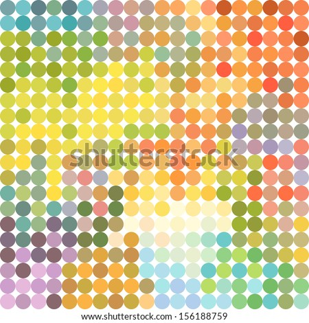 Geometric colorful pattern - stock vector