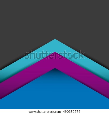 geometric figures paint colors vector illustration design
