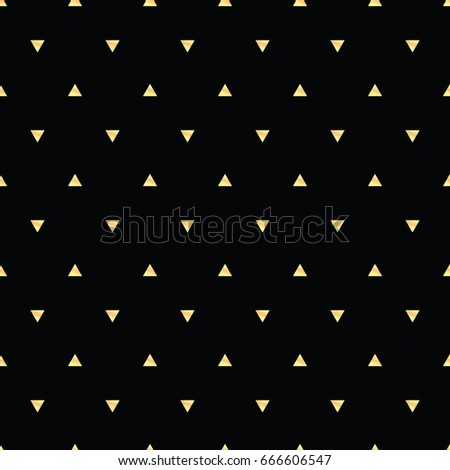 Geometric Line Gold Abstract Seamless Pattern Stock Vector 666606547