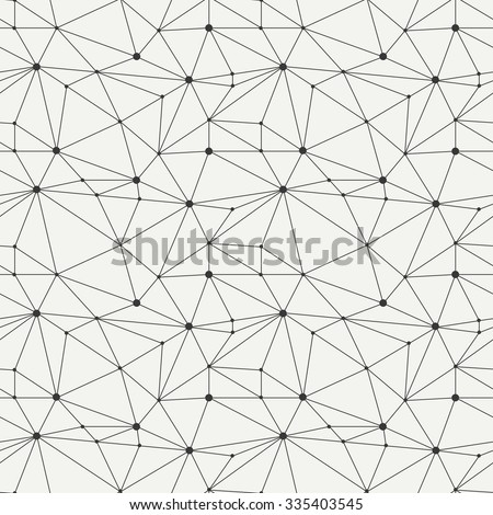 Geometric line hipster seamless pattern with triangle, circles. Reticulated abstract linear grid. Wrapping paper. Scrapbook. Vector illustration. Background. Graphic texture.