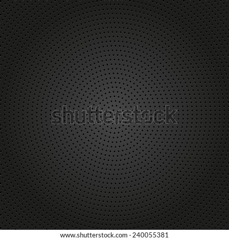 Geometric modern vector pattern. Texture with round black dotted elements