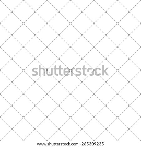 Geometric modern vector seamless pattern. Abstract texture with grey dotted elements