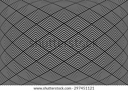 Geometric pattern. Abstract textured background. Vector art. - stock vector