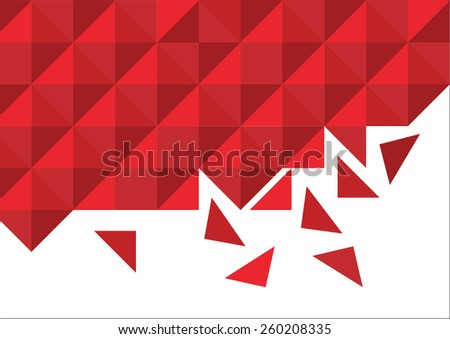 geometric pattern geometric pattern consisting of individual pieces - stock vector