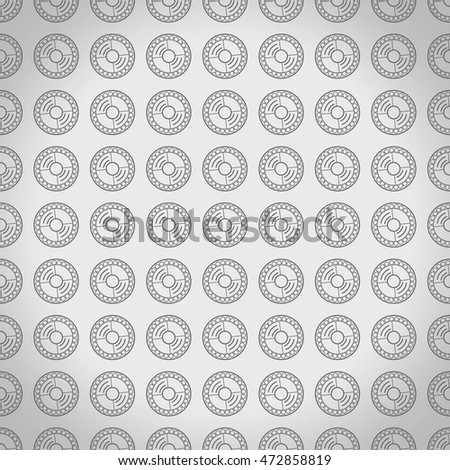 Geometric pattern. It can be used as a corporate pattern, as a mark of distinction.