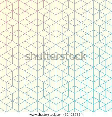 amp 187 geometric multicoloured triangles - photo #18