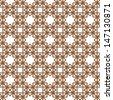 Geometric pattern.Seamless background with stars. - stock