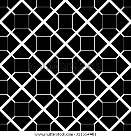 Geometric pattern tiles, mosaic, seamless vector background.