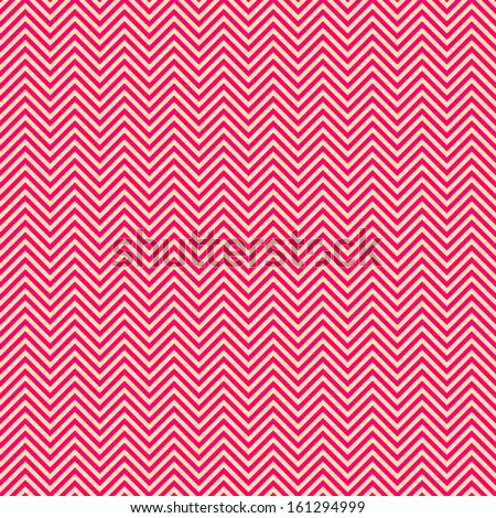 Geometric pattern (tiling).Vector seamless abstract vintage background with zig zag. Retro pink color. Endless texture can be used for printing onto fabric and paper or scrap booking.