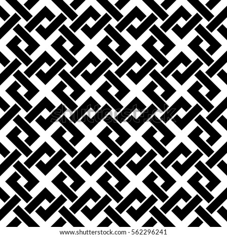 Black and white vector patterns and designs