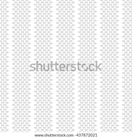 Geometric pattern with square, seamless vector background. - stock vector