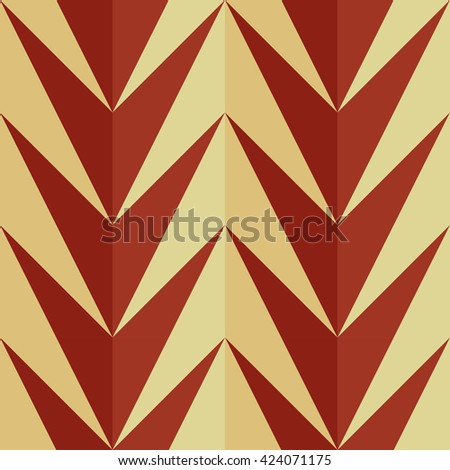 Geometric pattern with zigzag.Triangle pattern background. - stock vector