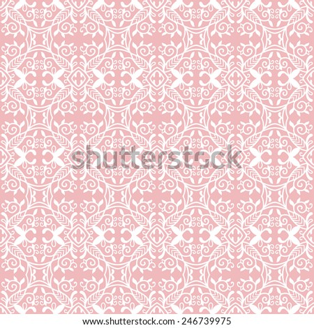 Geometric seamless background. Hand drawn pattern, line artwork. Can be used for card design, wallpaper, pattern fills, web page background, surface textures - stock vector