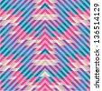 Geometric Seamless Pattern 74 - stock vector