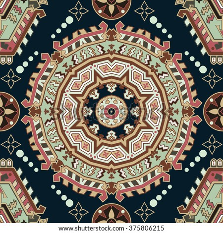 Geometric seamless pattern. Colorful pattern. Geometric pattern. Colorful abstract background - stock vector