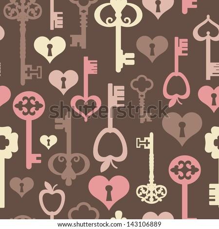 geometric seamless pattern ornament background print design - stock vector