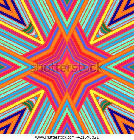 Geometric seamless pattern. Simple regular background. Vector illustration  - stock vector