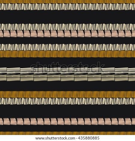 Geometric Seamless Pattern. Striped Abstract Texture. Vector  Background with stripes.