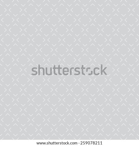 Geometric seamless pattern. Texture with repeating diamonds. Monochrome. Vector illustration - stock vector