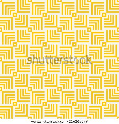 Geometric seamless pattern. Vector Illustration.  - stock vector
