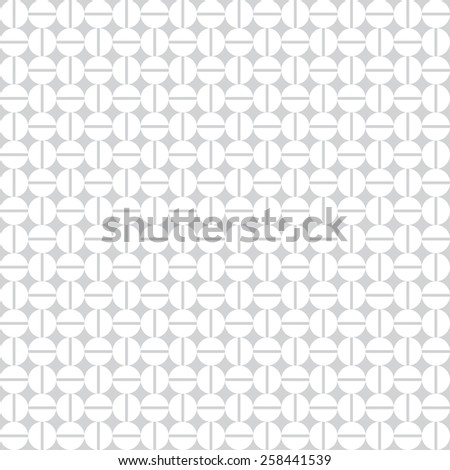 Geometric seamless pattern with circles, diamonds and stripes. Vector illustration - stock vector