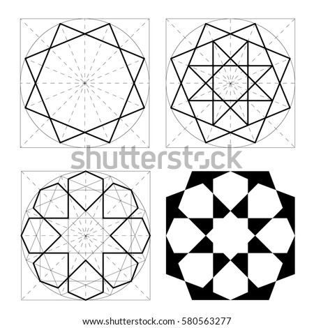 Moon Cosmic Power Brooch Line Art 303466798 together with Sailboat Iris Folding also 469007748666756204 besides Stock Illustration Set D Geometric Shapes Isometric Views Science Geometry Math Linear Objects White Background Outline Vector Image86370583 as well Metatron. on crystal patterns for free