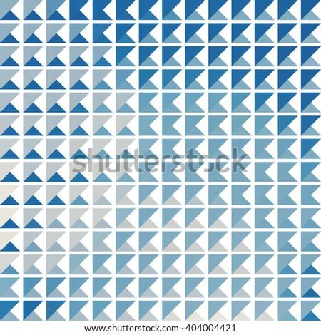 Geometric simple black and white minimalistic pattern. Trendy vector triangles pattern. - stock vector