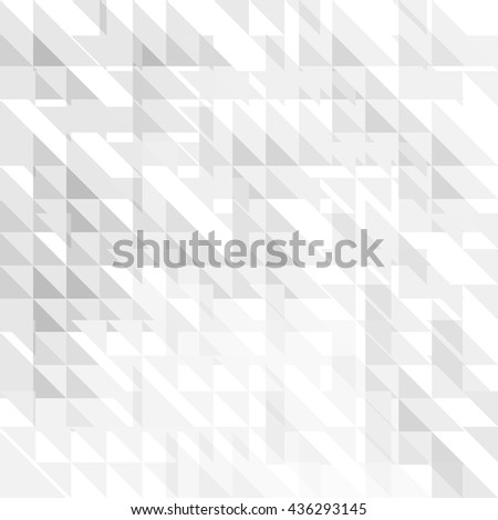 Geometric simple minimalistic background. Triangles pattern. - stock vector