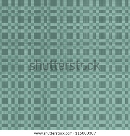 geometric squares seamless pattern in retro blue - stock vector