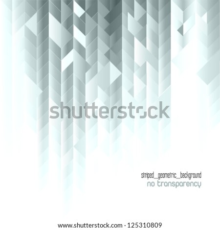geometric striped abstract background - stock vector