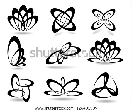 Geometric symbols. - stock vector