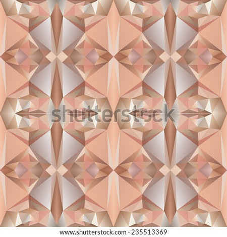 Geometric triangle hipster retro background with place for youe text - stock vector