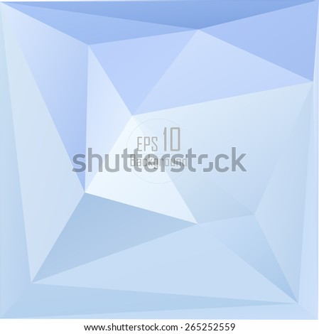 Geometric Triangular Abstract Modern Backgrounds - EPS10 Brochure Design Templates.Low poly design.