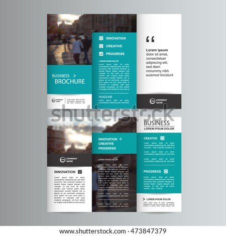 Tri Fold Brochure Template Stock Images RoyaltyFree Images - Business brochures templates