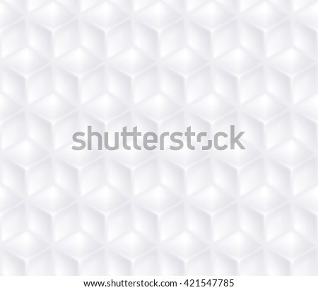 Geometric vector cubes seamless background. - stock vector