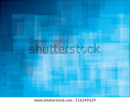 Geometric vector polygonal futuristic abstract background - stock vector