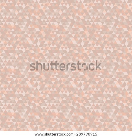 Geometric vector texture with purple and pink triangles. Seamless abstract bright background for wallpapers - stock vector