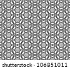 geometrical seamless background - stock vector