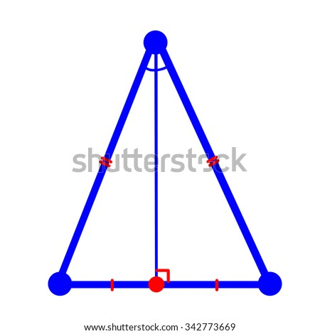 how to find the height in a isosceles triangle