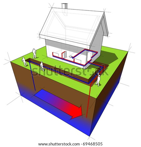 Geothermal Heat Clip Art